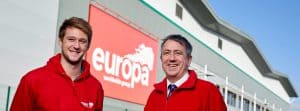 Jack Baxter joins Europa Showfreight