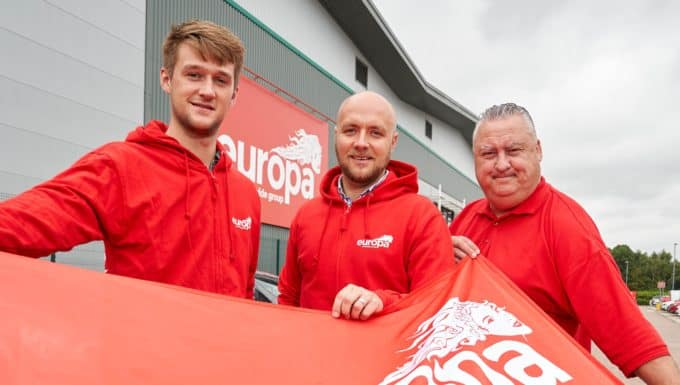 Europa Showfreight Announces Search for School Leaver