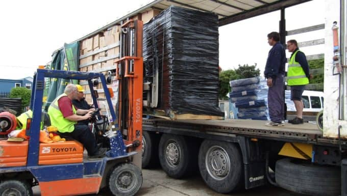 Europa Warehouse Supports Client by Going the Extra Mile for Charity