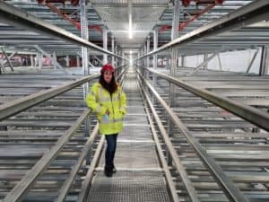 Maria Torrent March Logistics Director At Europa Warehouse In Corby